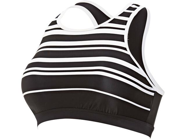 Zoggs Monochrome Crop Top Women black/white